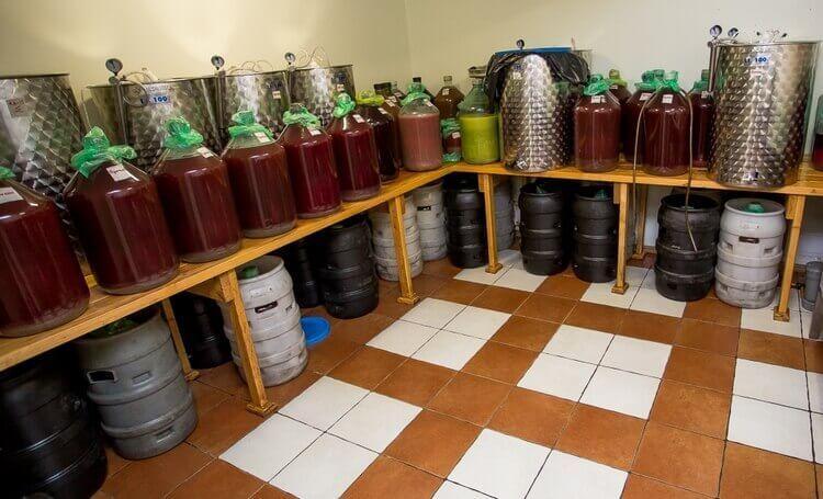 Как выбрать емкость для брожения вина?