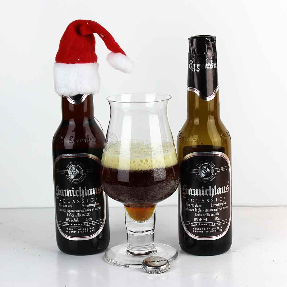 Самое крепкое пиво в мире пьет Санта Клаус
