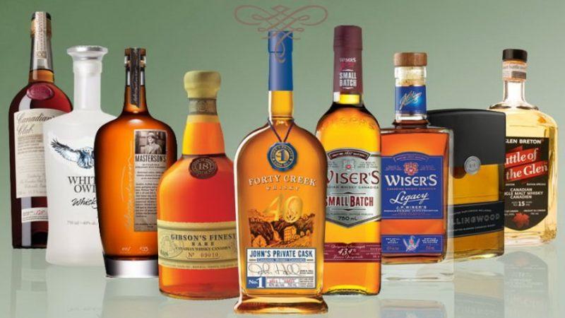 Канадский виски: марки, бренды, сорта и история
