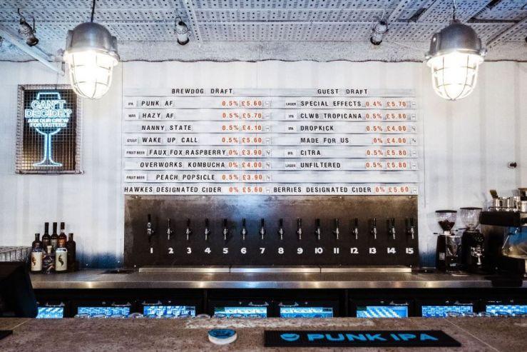 BrewDog открыла первый полностью безалкогольный бар
