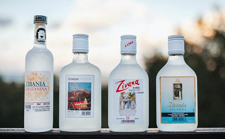 Напиток зивания – водка из острова Кипр