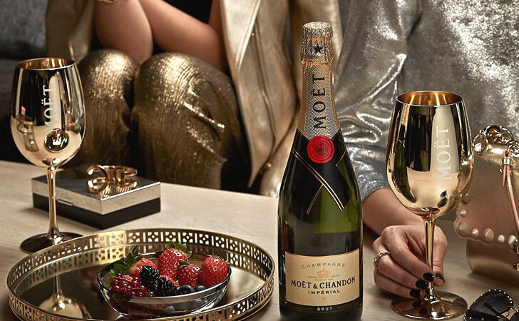 Шампанское Моёт Шандон: история, процесс производства, виды, как отличить подделку от оригинала