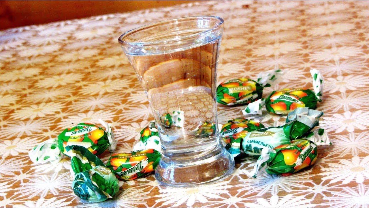 Как сделать самогон из конфет?