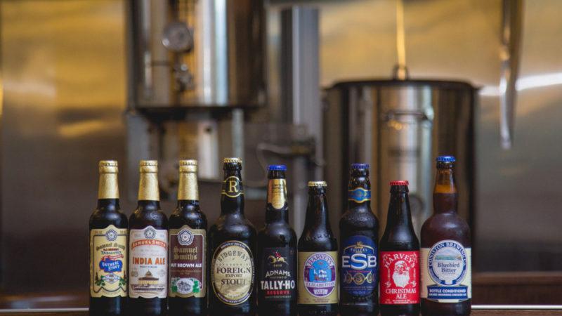 Английское пиво: марки, сорта, бренды и история.