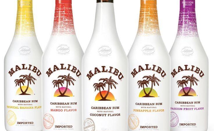 Как правильно пить ликер Малибу? Коктейли с ликером Малибу.