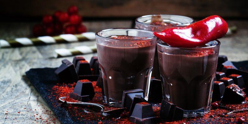 Острый горячий шоколад с коньяком