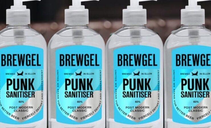BrewDog объявила о запуске производства антисептиков для рук