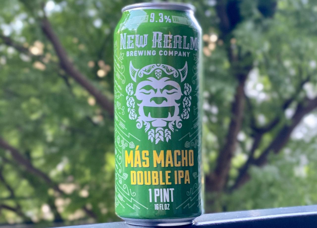 Новый Realm Brewing представляет Más Macho Double IPA