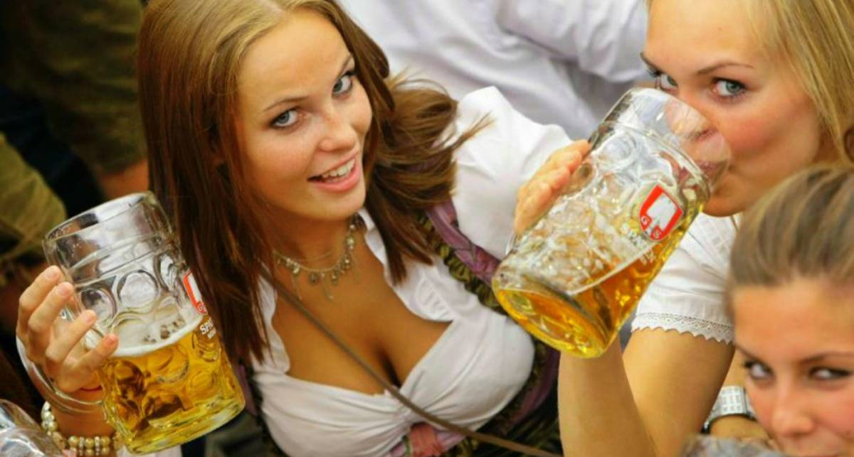 Женщины и пиво