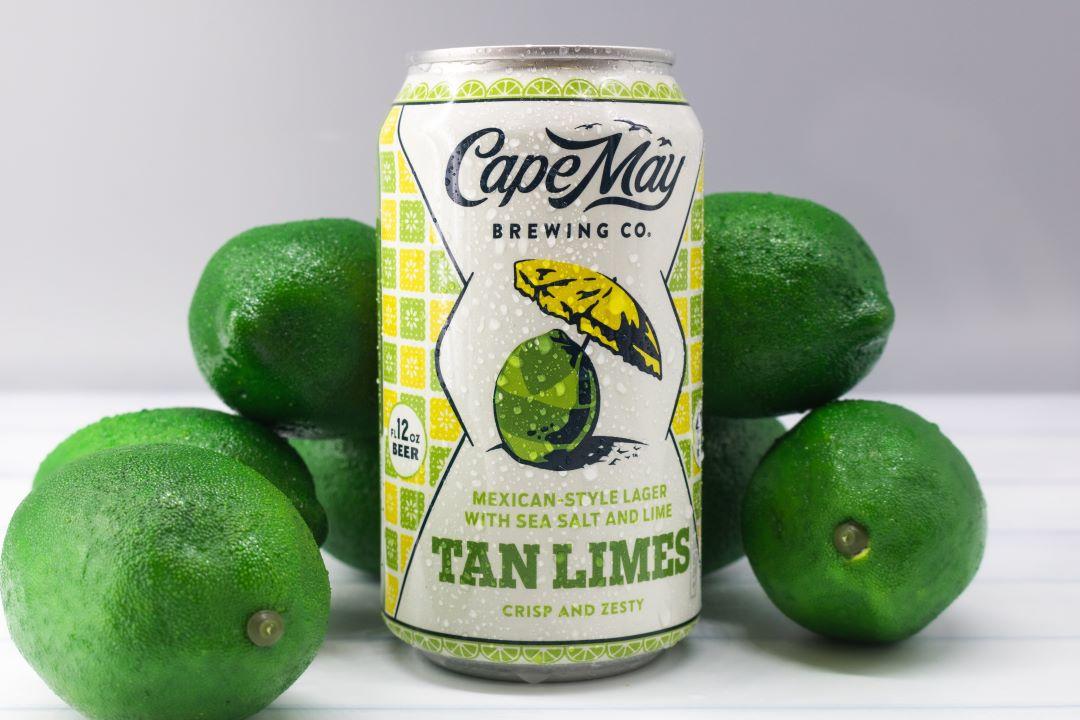 Пивоварня Cape May выпускает Tan Limes