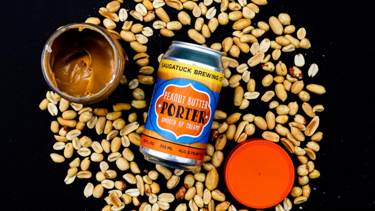 Как сделать пиво со вкусом арахиса?