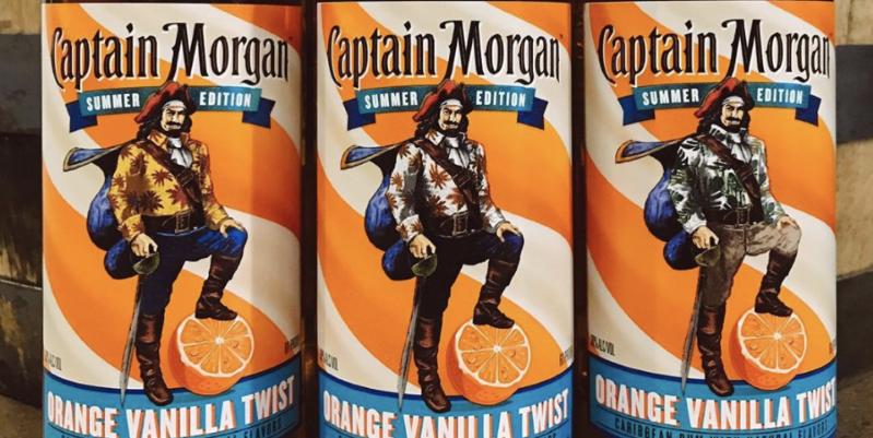 Новый летний вкус Captain Morgan