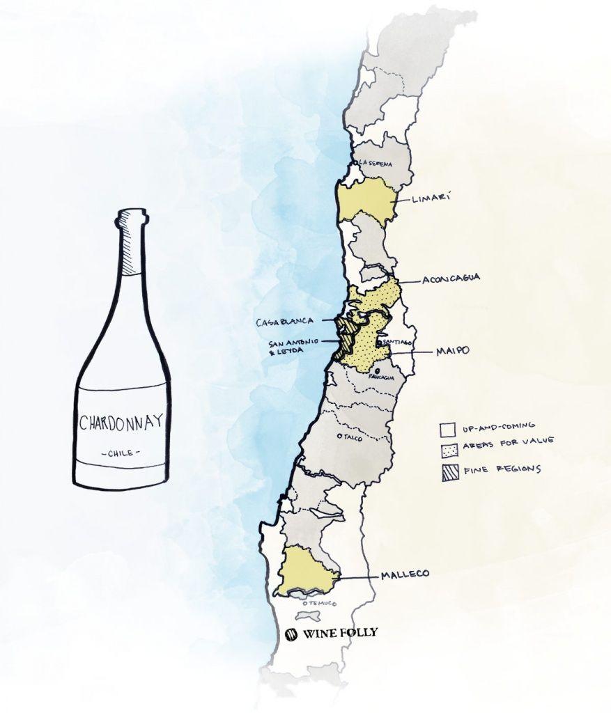 10 лучших чилийских вин: от Шардоне до Пино Нуар