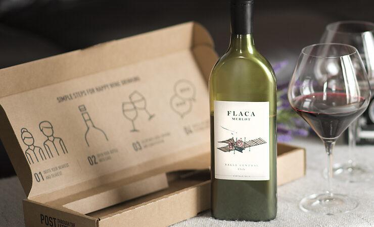 В Китае будут продавать вино в бутылках, проходящих в почтовый ящик