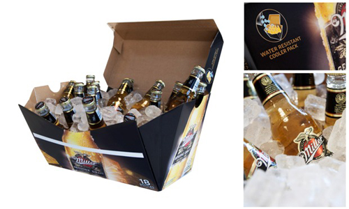 Упаковка для пива в качестве холодильника – новое изобретение