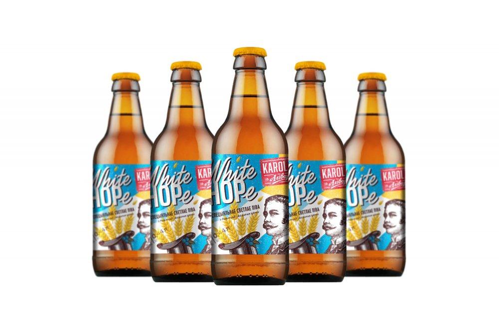 «Аливария» представила пиво Karol Jan White Hope