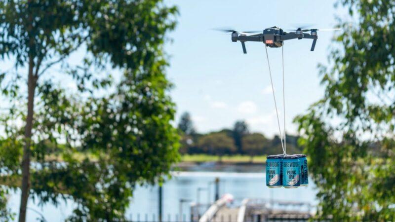 BrewDog будет доставлять пиво дронами