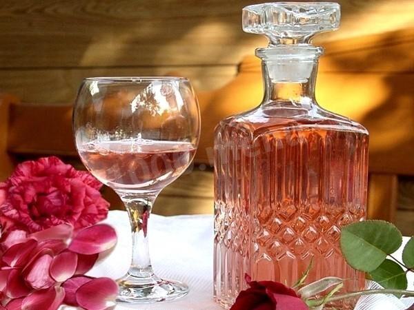 Рецепт вина из роз