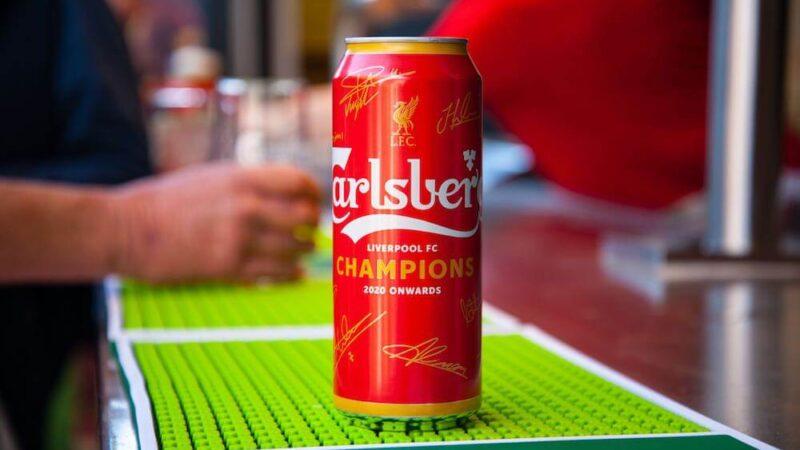Carlsberg сварил пиво в честь победы «Ливерпуля» в «Премьер-лиге»