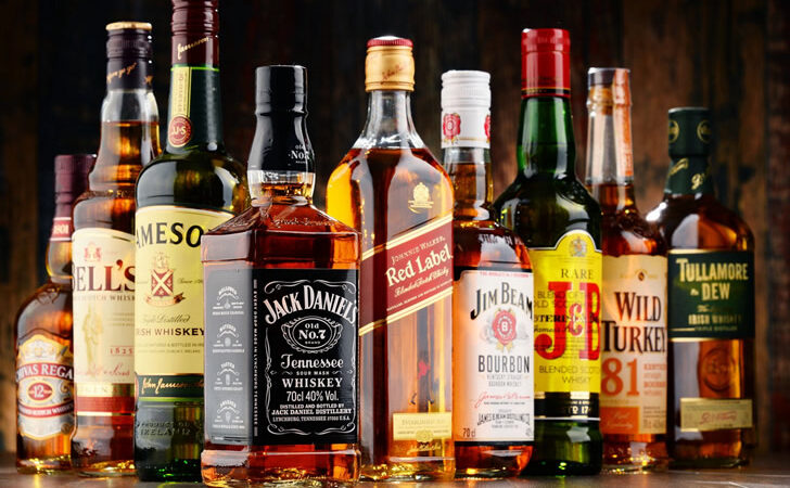 Знаменитые марки виски из разных стран