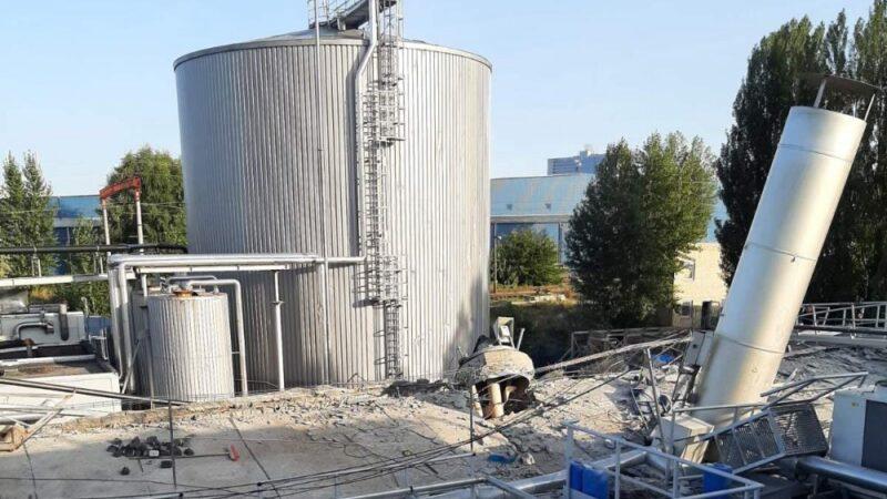 В Киеве произошёл взрыв на заводе Carlsberg Ukraine