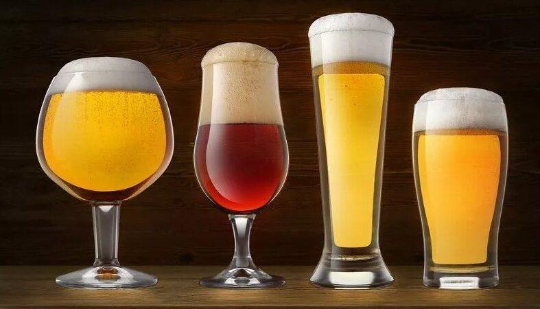 Пивные бокалы: виды и их назначение