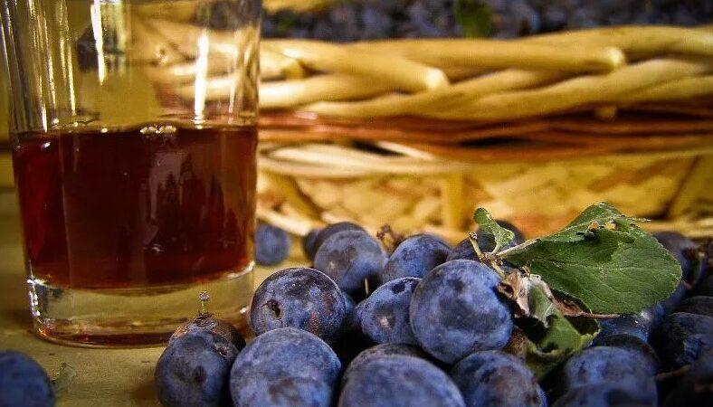 2 рецепта насыщенного вина из терновника
