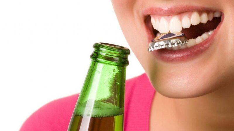 Влияние злоупотребления алкоголем на зубы